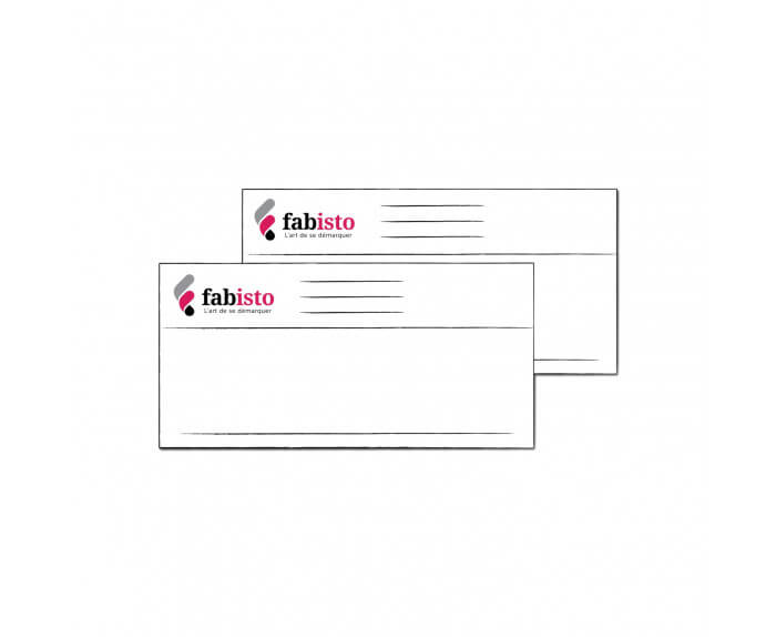 Cartes de Correspondance 21 x 10 cm