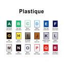 Plastique 10 x 2,5 cm - image 2