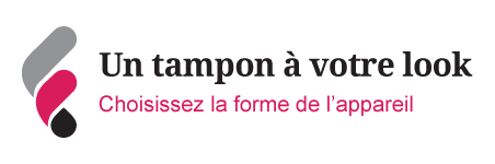 Ullustration forme tampon pour le look
