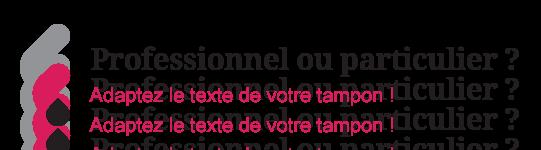 Illustration pour adapter le texte du tampon selon l'utilisateur