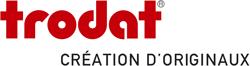 Logo trodat avec slogan