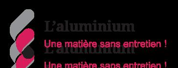 Illustration sur la matière aluminium sans entretien