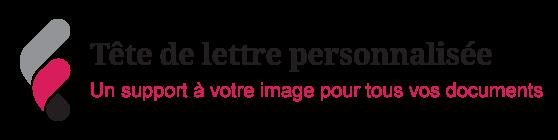 Image sur la personnalisation des têtes de lettres