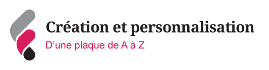 Illustration sur la fabrication d'une plaque de A à Z