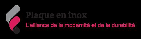 Vignette sur la modernité des plaques en inox