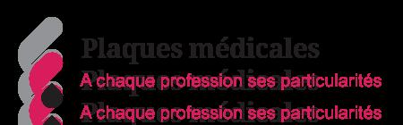 Illustrations sur les particularités des plaques médicales