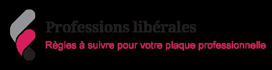 Illustration sur les plaques de profession libérale